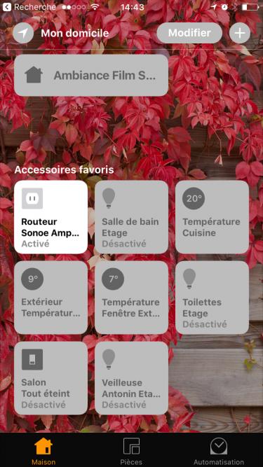 Eedomus et homekit documentation eedomus for Application maison
